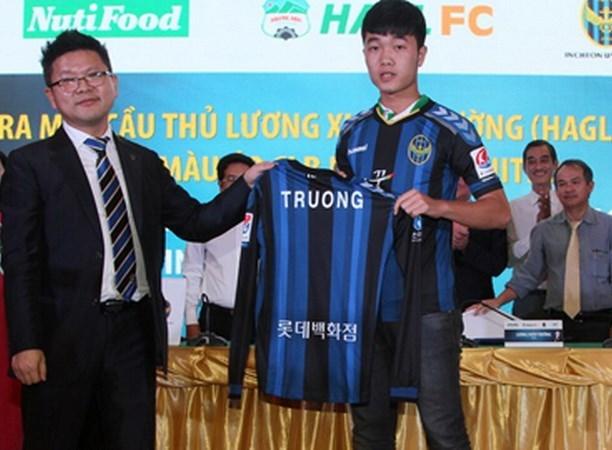 Xuan Truong, primer futbolista sudesteasiatico que juega en Liga sudcoreana hinh anh 1