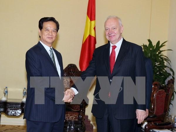 Destacan los avances en las relaciones entre Rusia y Vietnam hinh anh 1