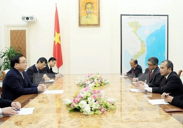 Impulsan Vietnam e Indonesia cooperacion en agricultura hinh anh 1