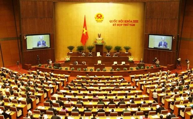 Parlamento vietnamita sigue perfeccionando el sistema juridico hinh anh 1