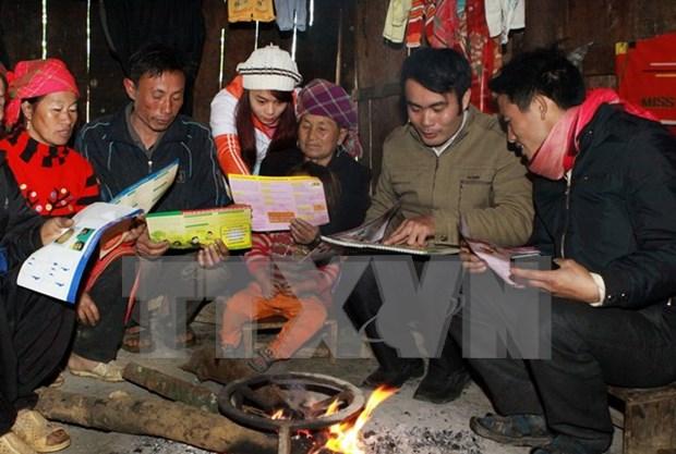 Emitiran programa televisivo sobre etnias con muy pocas personas de Vietnam hinh anh 1