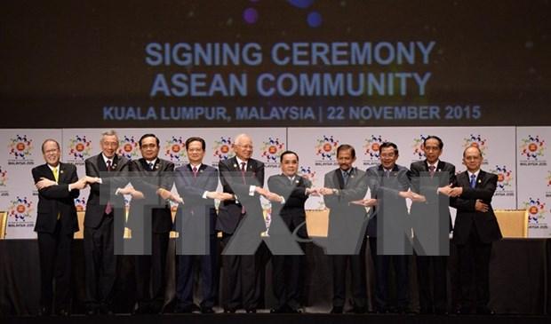 Se oficializa Comunidad de ASEAN hinh anh 1
