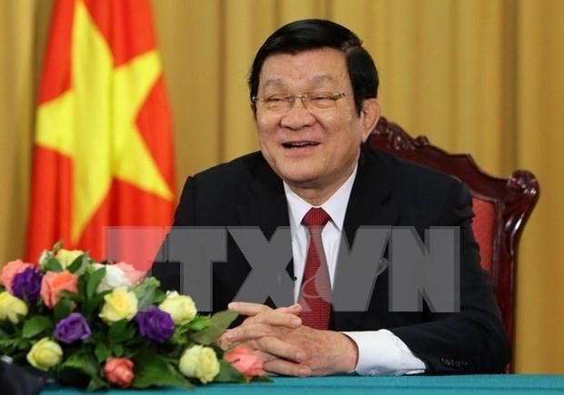 Presidente: Unidad es fuerza invencible de Vietnam ante cualquier desafio hinh anh 1