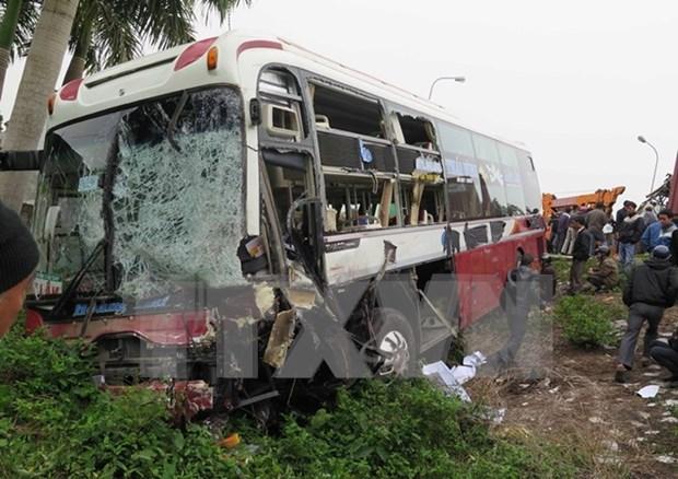 Registran 20 muertos por accidentes de trafico en segundo dia de 2016 hinh anh 1