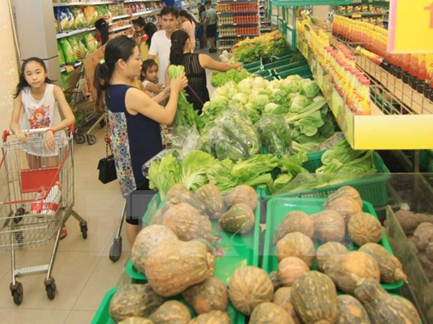Grupo sudcoreano Shinsegae inaugura primer supermercado en Vietnam hinh anh 1