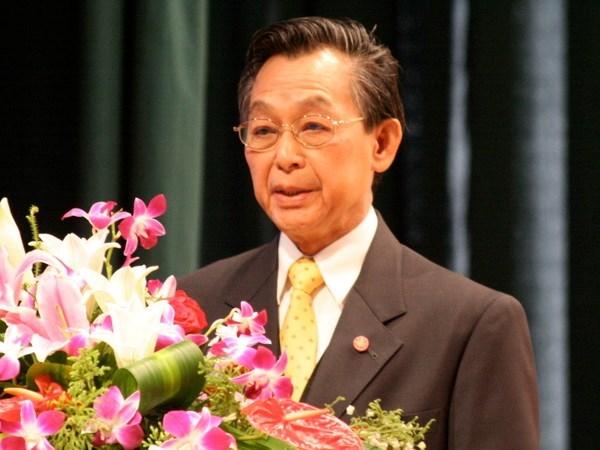 Exprimer ministro tailandes Chuan Leekpai competira en proximas elecciones hinh anh 1