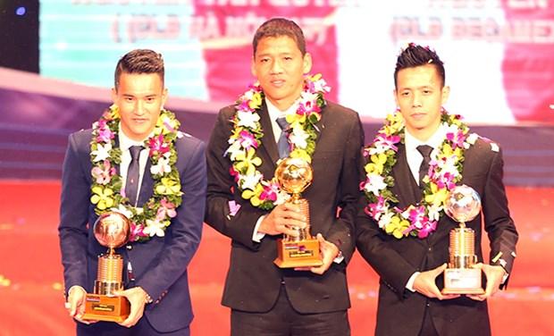 Publican lista de futbolistas mas destacados de Vietnam en 2015 hinh anh 1