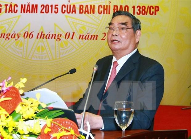 Intensifican liderazgo partidista en prevencion contra crimenes hinh anh 1