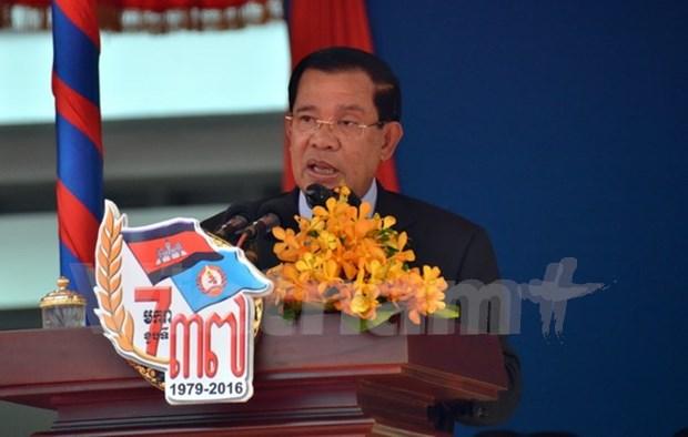 Cambodia conmemora victoria contra regimen genocida hinh anh 1