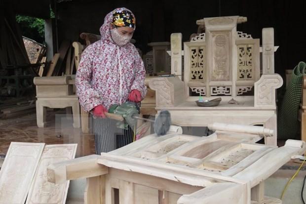 Exportacion de madera de Dong Nai registra superavit de 860 millones USD hinh anh 1