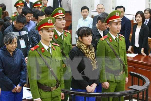 Exdirectivo de banco vietnamita condenado a prision hinh anh 1