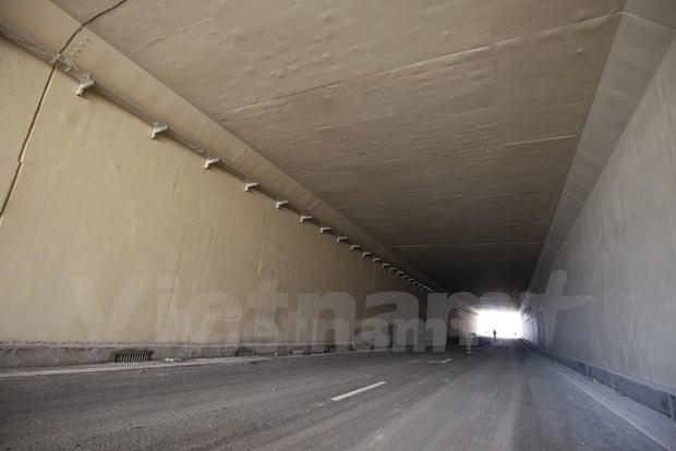 Abren al trafico tuneles mas modernos de Hanoi hinh anh 5