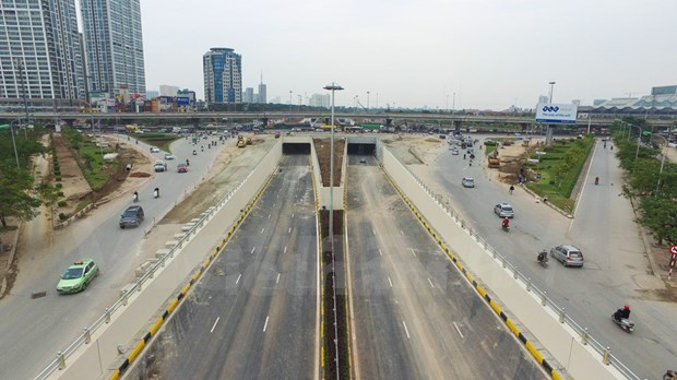 Abren al trafico tuneles mas modernos de Hanoi hinh anh 3