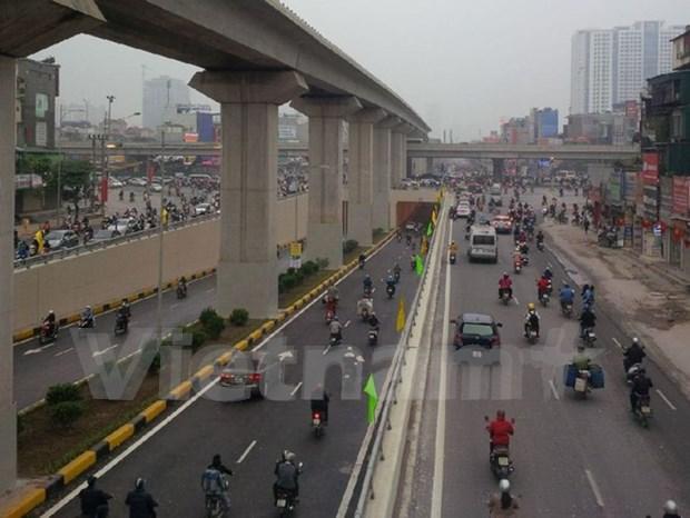 Abren al trafico tuneles mas modernos de Hanoi hinh anh 4