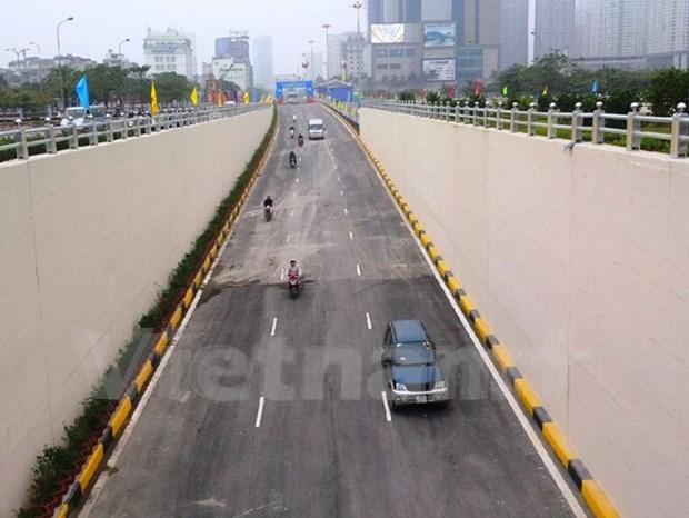 Abren al trafico tuneles mas modernos de Hanoi hinh anh 2