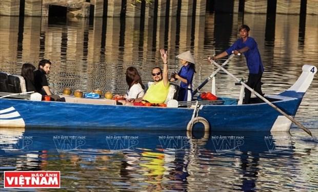 Excursion en barco en el canal Nhieu Loc-Thi Nghe hinh anh 1