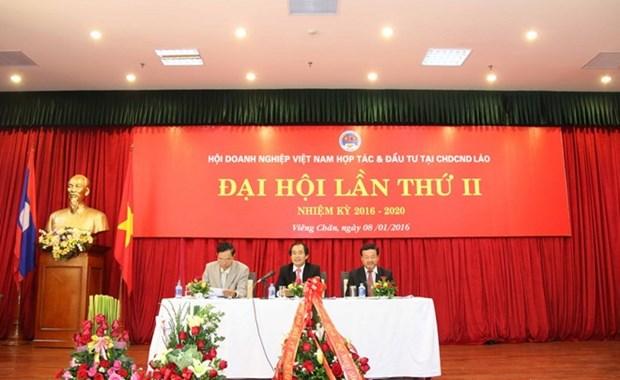 Vicepremier laosiano saluda contribuciones de empresas vietnamitas hinh anh 1