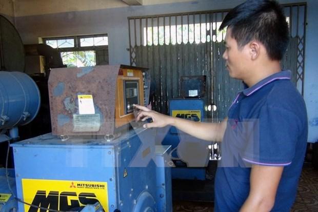 Inician proyecto electrico en isla Cu Lao Cham hinh anh 1