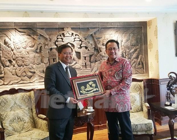 Indonesia prioriza fortalecimiento de relaciones con Vietnam hinh anh 1
