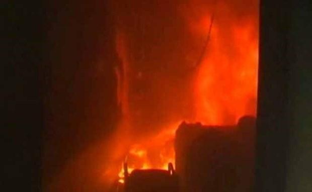 Incendio en mercado de Rangun destruyen mas de mil 600 puestos de venta hinh anh 1