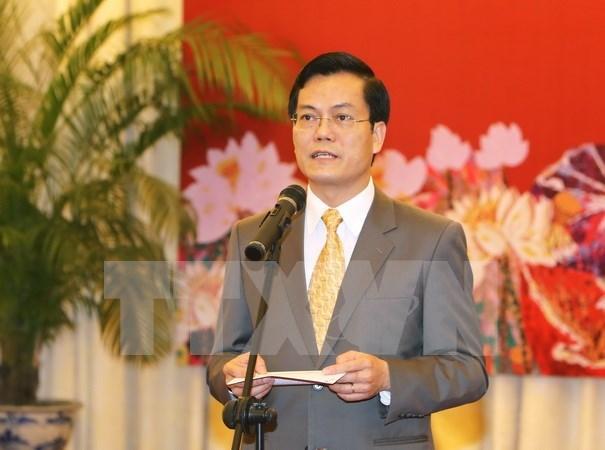 Encuentro de corresponsales extranjeros en Hanoi en ocasion de Ano Nuevo hinh anh 1