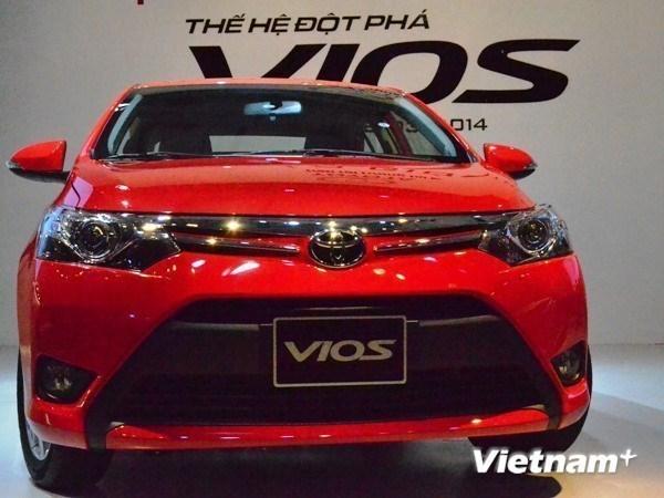 Toyota Vietnam registra record de venta de coches hinh anh 1