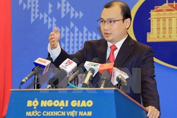 Vietnam refuta puntos de vistas erroneos en declaracion de portavoz chino hinh anh 1