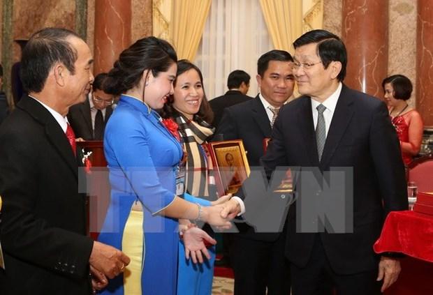 Presidente pide un mayor papel de asociacion de empresas pequenas y medianas hinh anh 1