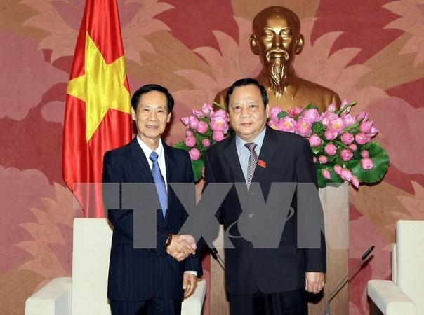 Delegacion parlamentaria laosiana visita Vietnam hinh anh 1