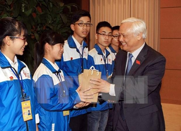 Enfatizan papel de jovenes vietnamitas en fomento de gran unidad nacional hinh anh 1