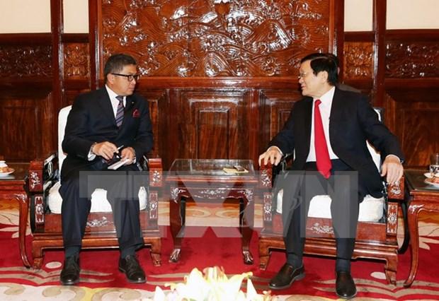 Presidente vietnamita expresa condolencias a Indonesia tras atentados en Yakarta hinh anh 1
