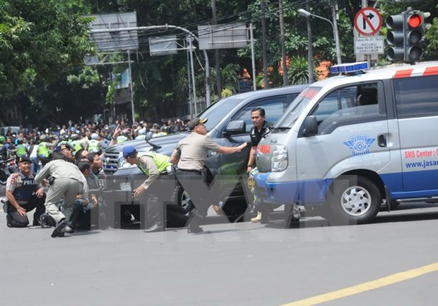 Ninguna victima vietnamita en cadena de explosivos en Yakarta hinh anh 1