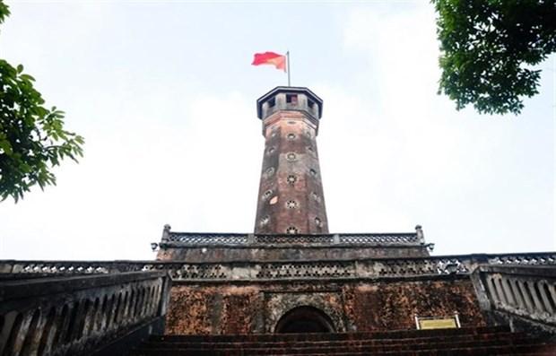 """Arrancan en extremo sur construccion de """"asta de bandera nacional de Hanoi"""" hinh anh 2"""