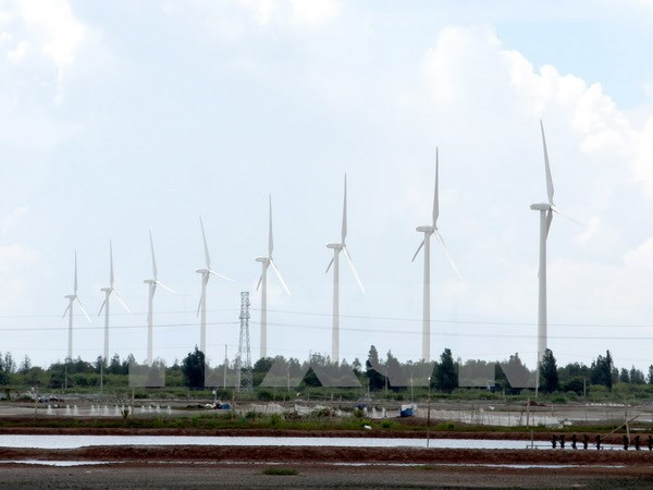 Inauguran nueva planta eolica en la provincia vietnamita de Bac Lieu hinh anh 1
