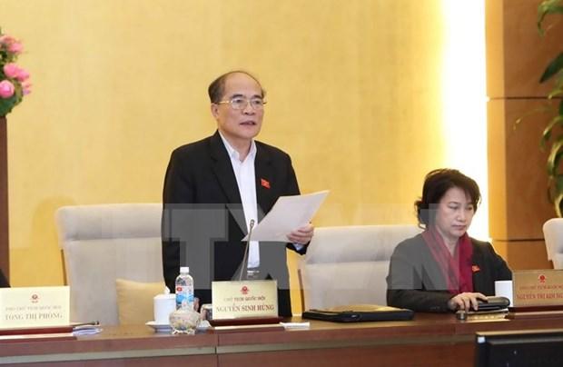 Reunion del Comite Permanente del Parlamento examina preparativos para elecciones hinh anh 1