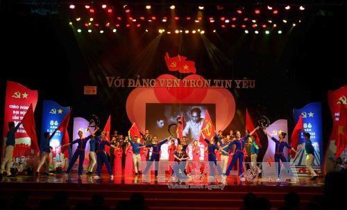 Programa artistico saluda proximo Congreso nacional del PCV hinh anh 1