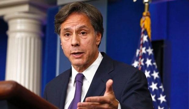 Estados Unidos se compromete a ayudar a nuevo gobierno de Myanmar hinh anh 1