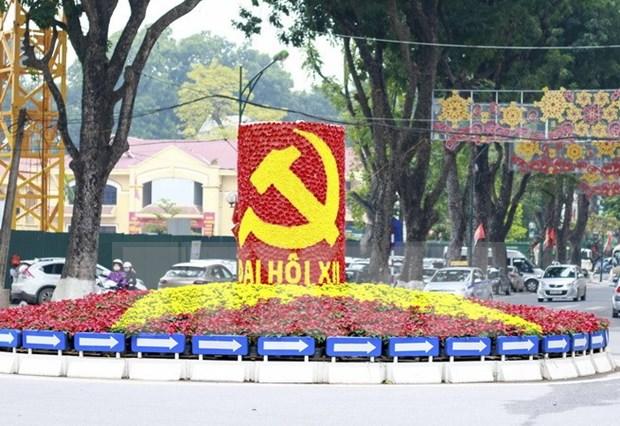 Vietnam listo para XII Congreso Nacional de Partido Comunista hinh anh 1
