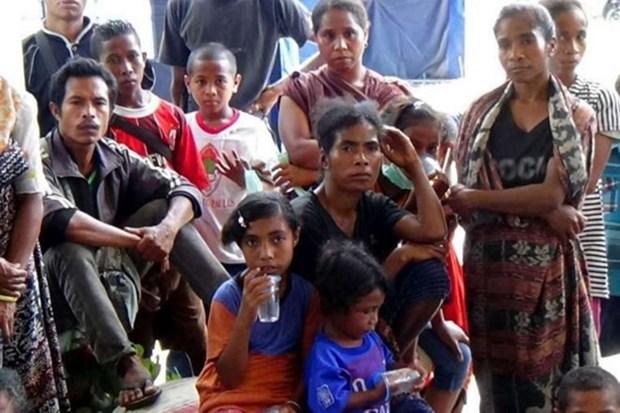 Indonesia: mas de mil personas evacuadas tras erupcion de volcan Egon hinh anh 1