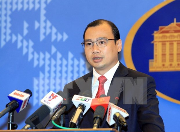 Vietnam exige retirada de plataforma petrolifera china de area superpuesta en Golfo hinh anh 1