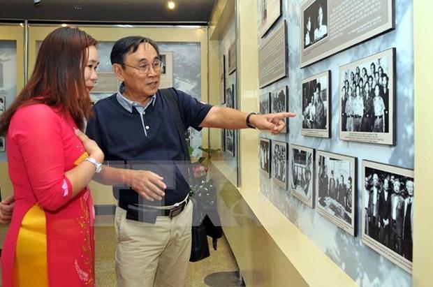 Exhibicion sobre vida de exlideres revolucionarios vietnamitas hinh anh 1