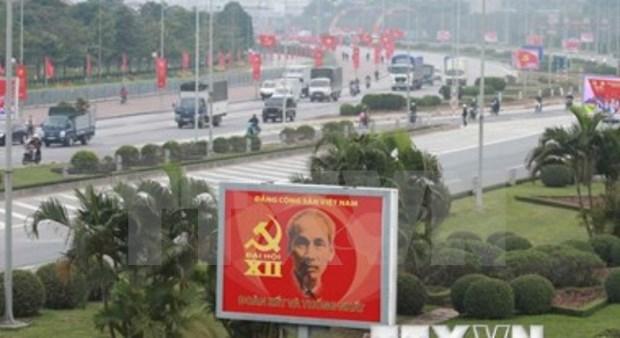Prensa china informa sobre preparativos para XII Congreso de PCV hinh anh 1