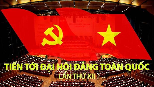 Vietnamitas residentes en Tailandia hacia el Congreso partidista hinh anh 1