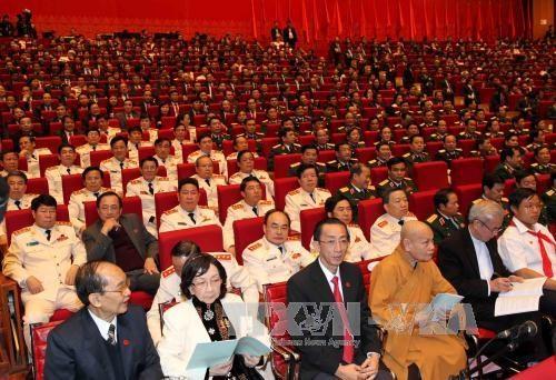 Inauguran el XII Congreso Nacional del Partido Comunista de Vietnam hinh anh 2