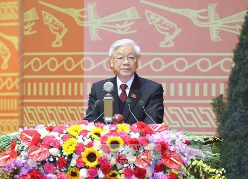 Inauguran el XII Congreso Nacional del Partido Comunista de Vietnam hinh anh 4