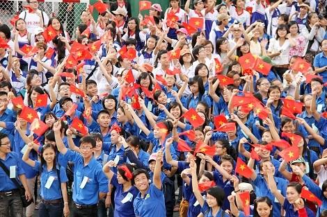Jovenes vietnamitas con numerosas propuestas ante XII Congreso de PCV hinh anh 1