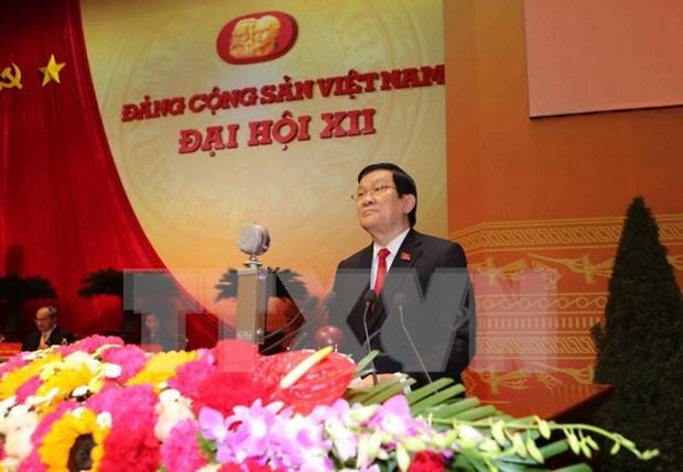 Inauguran el XII Congreso Nacional del Partido Comunista de Vietnam hinh anh 3