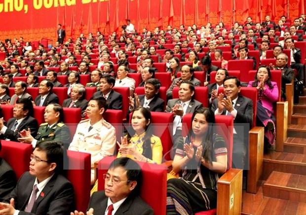 Emiten comunicado de prensa de sesion inaugural de XII Congreso de PCV hinh anh 1