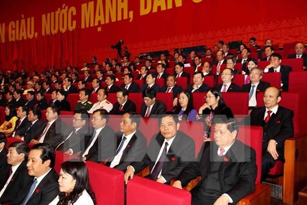 XII Congreso del PCV: Informe del Comite Central lleva practicas experiencias hinh anh 1