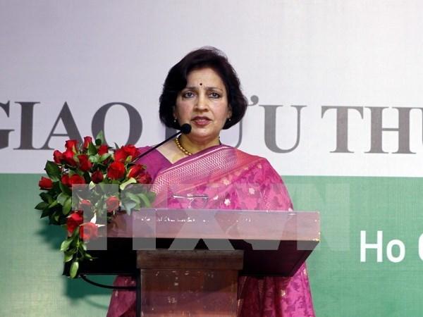 Vietnam y la India fortalecen cooperacion economica y comercial hinh anh 1